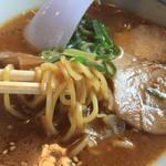 あじへい - 料理写真:あじへいランチの味噌ラーメン(半玉)
