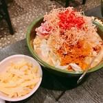 もんじゃ 蔵 - 『豚肉カレー+チーズ』様(1150円+250円)