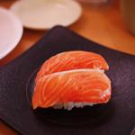 かっぱ寿司 - 生銀鮭~☆