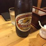 麺屋 西川 - キリンラガー