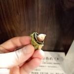 アキバの酒場 - 亀の手剥けば、日本酒のアテに♡