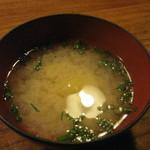 田吾作 - 味噌汁付