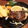 ステーキのあさくま - 料理写真:いい焦げ具合