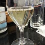 独楽寿司 - 飲み放題から 白ワイン
