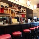 タイガー餃子会館 - 1階カウンター