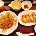 魏飯吉堂 - 焼き餃子五目炒飯ランチ