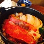 70333218 - 国産牛すき焼き定食(¥1,188)