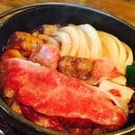 70333219 - 国産牛すき焼き定食(¥1,188)