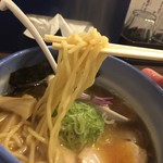 麺や 玄鳥 - チュルチュル麺