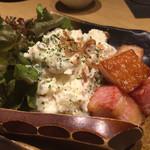 海の幸×個室居酒屋 響き - 厚切りベーコンのポテトサラダ