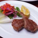オルゴーリオ デル カザルタ - 肉に合わせて焼き加減を調整