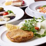 オルゴーリオ デル カザルタ - 熟練の技術でイタリアさながらの伝統料理が楽しめる