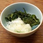 澄まし麺 ふくぼく - 薬味