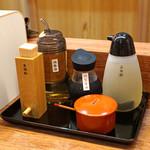 澄まし麺 ふくぼく - 調味料