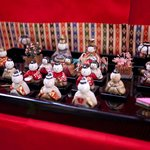 美術館ローズマダー - 美術館ローズマダー 雛人形の展示