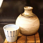 玉椿 - 一白水成 特別純米 の温燗