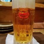 あぐん茶 - オリオン生ビール