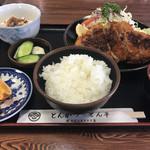 とん平 - ロースカツ定食B