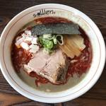 らー麺 山さわ - 濃厚カラニボ、850円です。