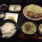 楓 - ひや汁定食
