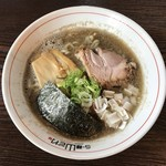 らー麺 山さわ - 濃厚煮干しラーメン、800円です。
