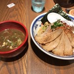 70344030 - 炙りチャーシューつけ麺