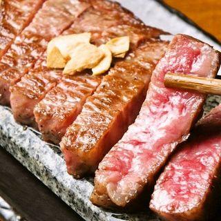最高級黒毛和牛を堪能できる本格鉄板焼き