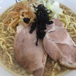 麺屋 翔 - アゴダシラーメン大盛 ¥700