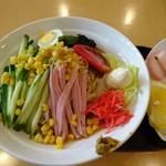 旬のうまいもん倶楽部 - 料理写真:「冷し中華」550円