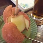 70347806 - シナモンリンゴ飴