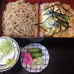 翁庵 - 料理写真:相乗り・親子丼 ¥1180
