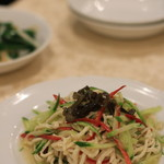 中国美食 唐苑酒楼 - 干し豆腐の和え物