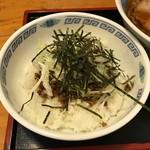 拉麺厨房 北斗   - 半そぼろネギ丼