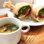 Bon Vivant sandwich - ランチセットのスープ