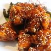 ヤンニョムチキン(鶏から揚げの甘辛ソース)