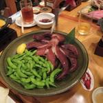 ざうお - 真蛸ボイル う~ん知多半島で食べた蛸とはかなり味が違ったような?