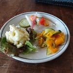 香菜軒 寓 - 野菜のおかず