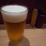 地酒 肴 蕎麦 まほろば - 生ビール
