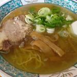 ささき - 料理写真:塩ラーメン600円