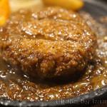 札幌牛亭 - ハンバーグ