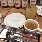 クオーレルディーノ - スープ・ドリンク