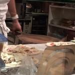 クオーレルディーノ - ピザ作り