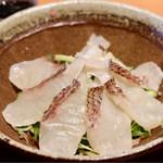 まるさ水産 - 新鮮な真鯛の刺身