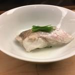 弁慶 - のどぐろの蒸し寿司