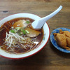 第三スター - 料理写真:「中華そば・いなりセット」650円