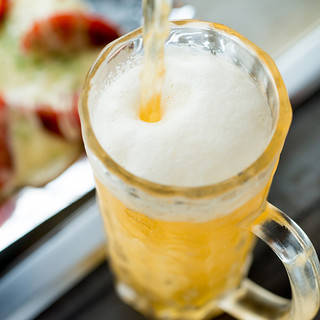 ★食欲の秋★ビールとお好み焼でどうぞ!