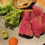 お忍び居酒屋きのした - 肉塊グリル(1680円税別)