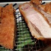 金の豚 - 料理写真:2017/6/11 上州とことん豚の特上厚切りロースかつ膳