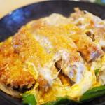 樹亭 - カツ丼(そば付)