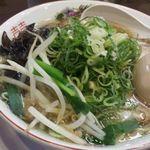 麺や 京水 - 白ラーメン 味玉